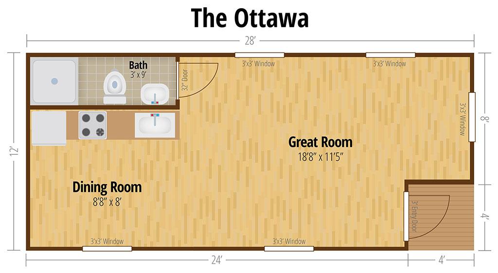 tiny cabin cost estimator form