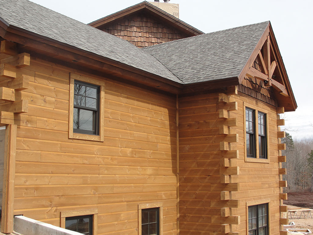 Adirondack Wood Siding Woodhaven