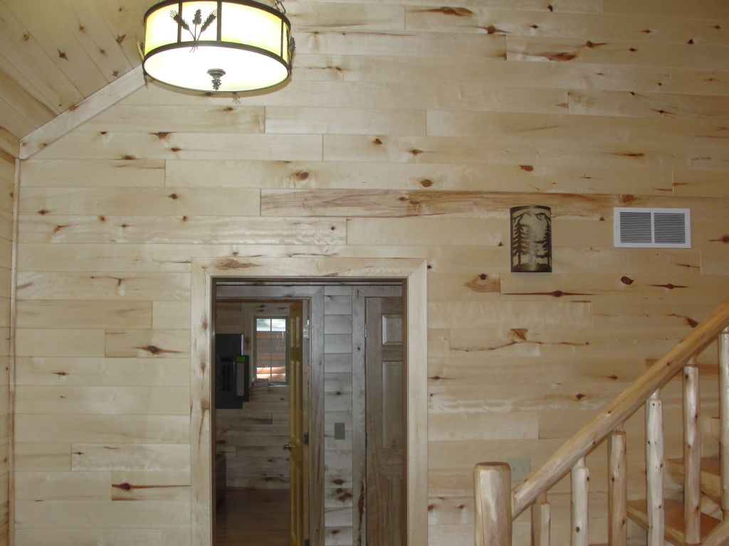 Knotty Pine Paneling Tongue Groove Woodhaven Log Lumber