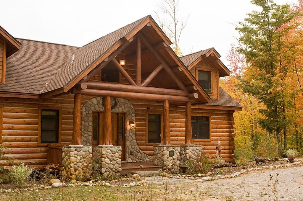 Log Siding Half Log Woodhaven Log Amp Lumber