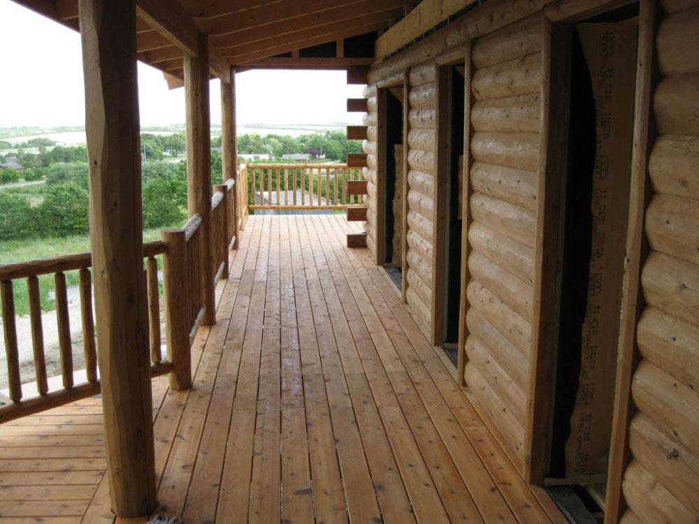 Log Siding Half Log Woodhaven Log Lumber