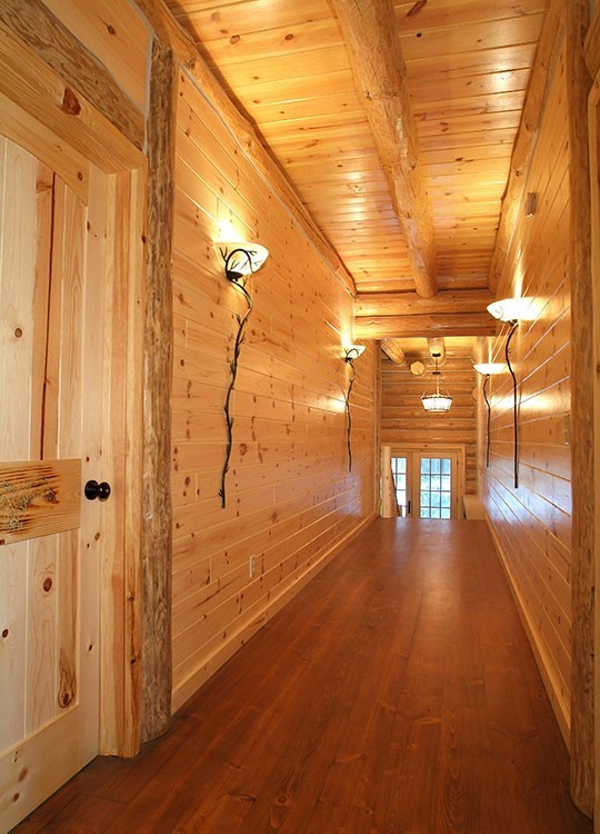 Knotty Pine Rooms: Rose City Home