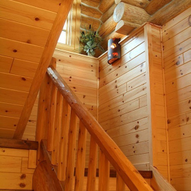 Knotty Pine Paneling (tongue & groove)   WoodHaven Log