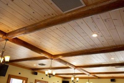 10 inch knotty pine paneling