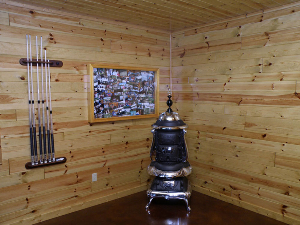 4 Inch Knotty Pine Paneling