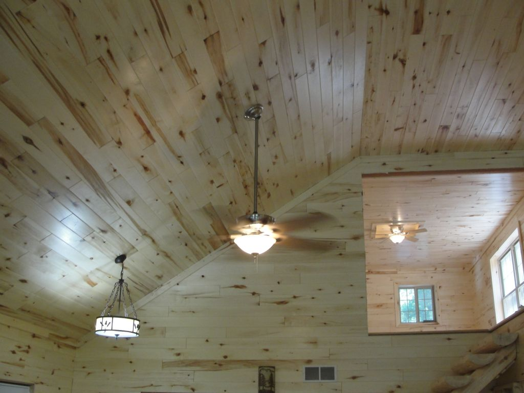 Tongue And Groove Paneling : Aspen paneling woodhaven log lumber