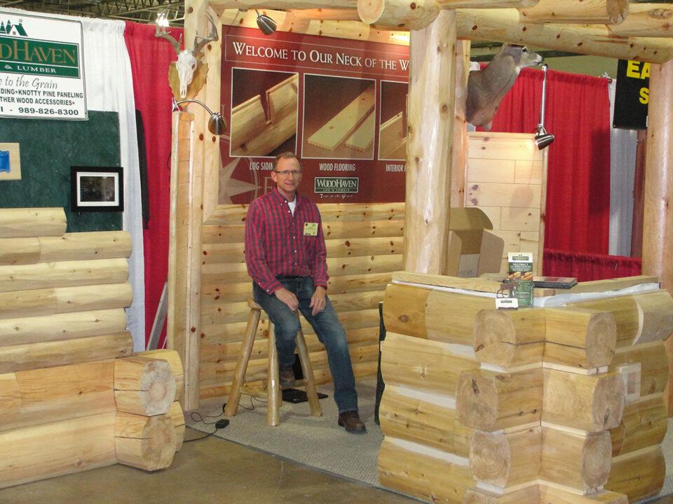 Custom building trade shows