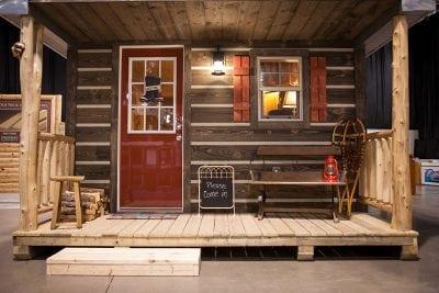 Prefinished barn wood siding