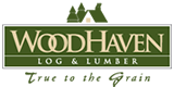 WoodHaven Log & Lumber logo