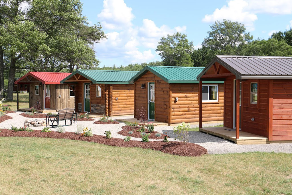Woodhaven tiny cabins