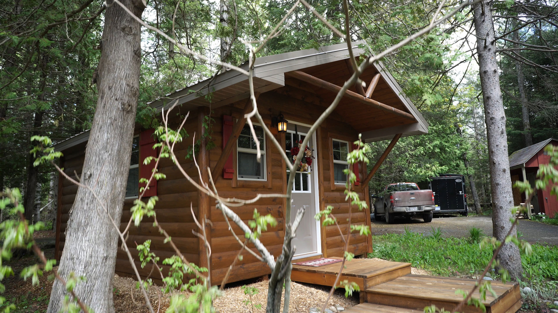 Woodhaven Tiny Cabins Video Cover