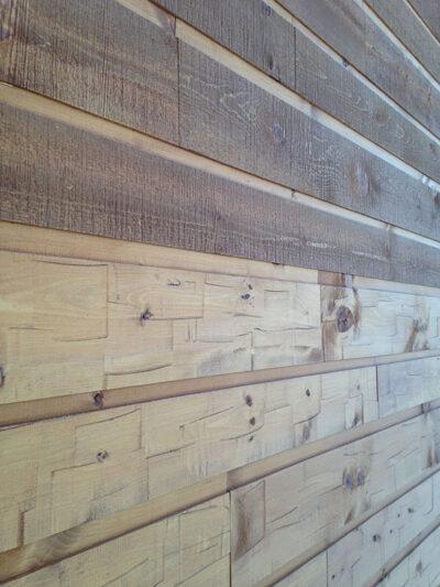 Adirondack Wood Siding Woodhaven