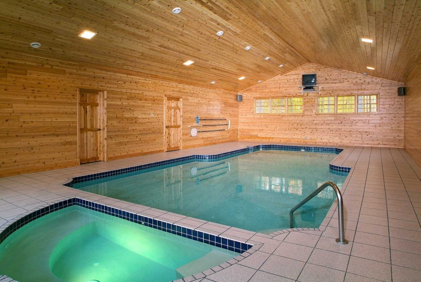 Tongue & groove cedar paneling installation as seen in a Fairview home