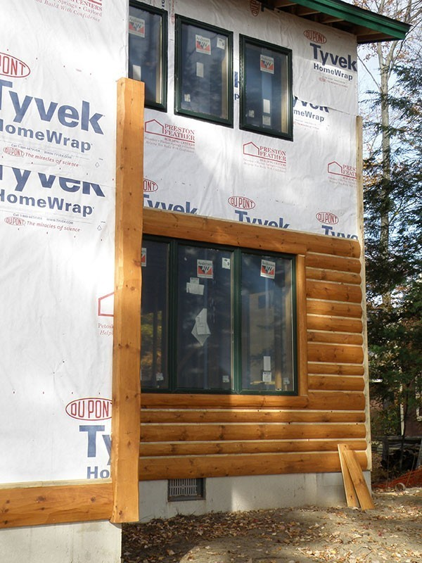 How To Install Log Siding Or Wood Paneling Yourself Woodhaven