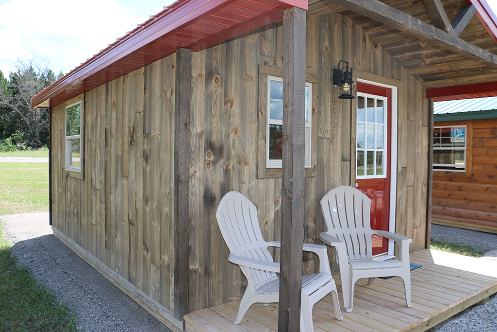 tiny rustic cabins are catching on woodhaven log lumber. Black Bedroom Furniture Sets. Home Design Ideas